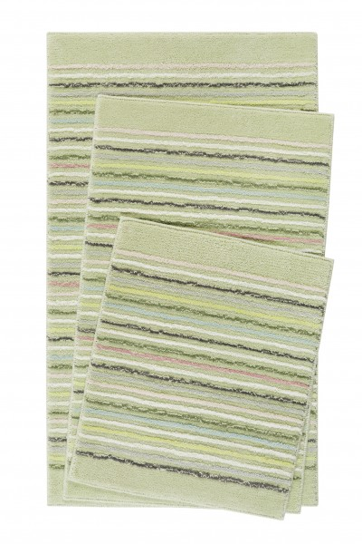 Esprit Bad Teppich » Cool Stripes « grün pastell