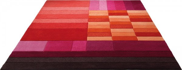 Esprit Kurzflor Teppich » Various Box « rot pink orange purple