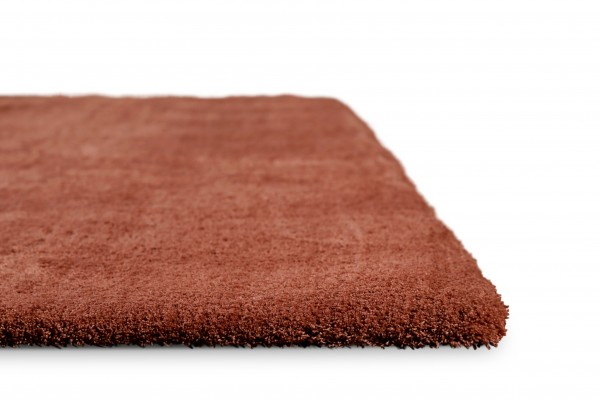 Homie Living Hochflor Teppich » Sienna « rost rot