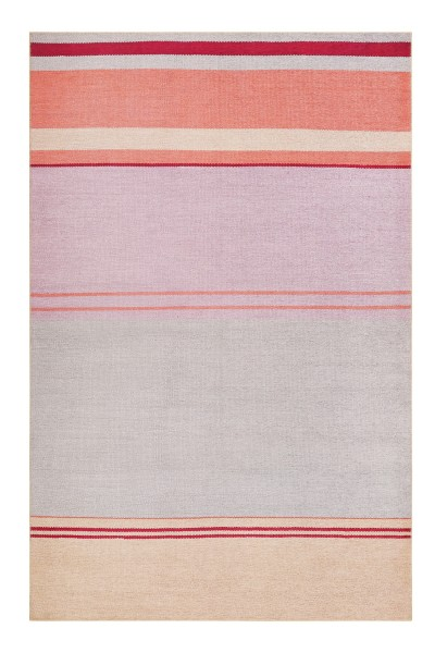 Esprit Teppich Grau Rosa Orange Kurzflor » Cleft «