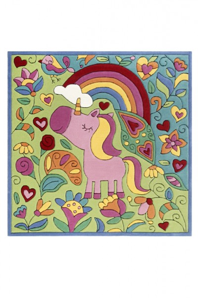 Doodle Kinderteppich »Lovely Unicorn« multicolour