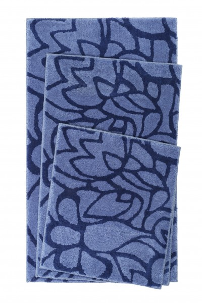 Esprit Bad Teppich » Flower Shower « blau
