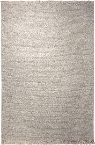 Esprit Kurzflor Kelim Teppich Aus Wolle Knitting Optic Beige