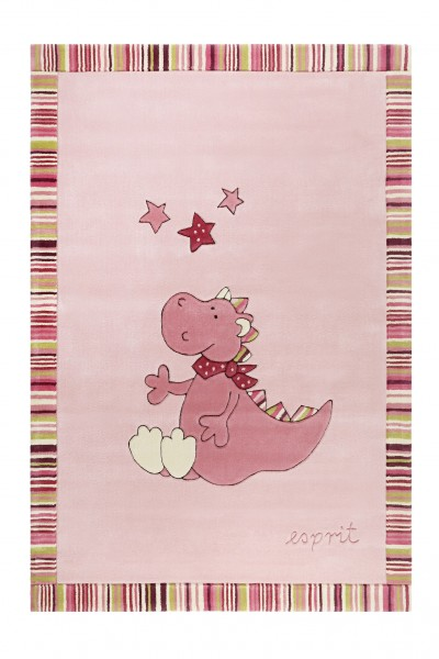 Esprit Kinder Teppich » Sweet Dragon « rosa